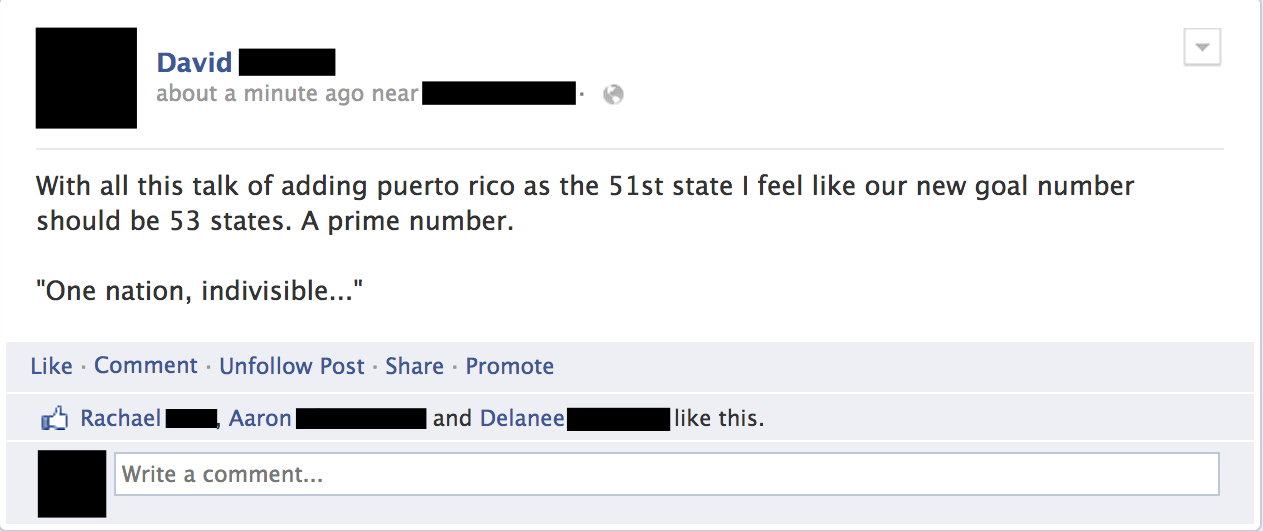 facebook screenshot united states 53 states