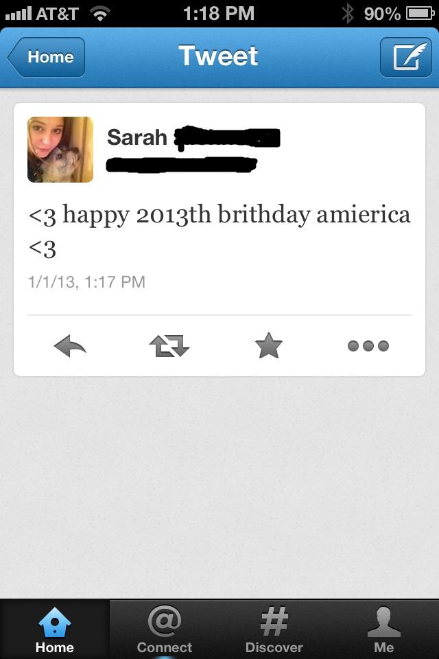 twitter happy 2013 birthday america